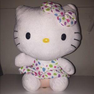 Hello kitty Sanrio plush spotted polka dot dress